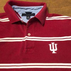 Red / White Tommy Hilfiger x IU Pique Polo Shirt M
